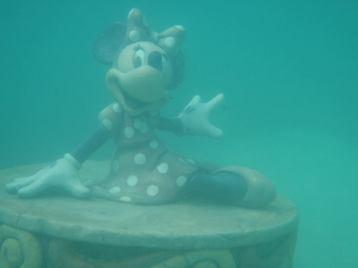 Top 10 Photo Opportunities on Disney's Castaway Cay - Hidden Minnie Mouse