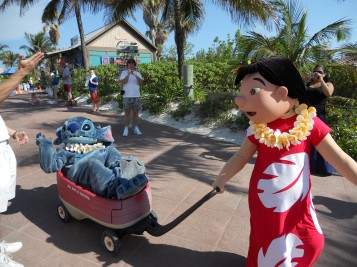 Top 10 Photo Opportunities on Disney's Castaway Cay - Lilo & Stitch