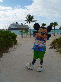 Top 10 Photo Opportunities on Disney's Castaway Cay - Mickey Mouse
