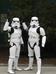 Stormtroopers- Star Wars Weekends
