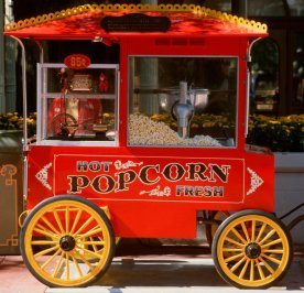 Top 15 Snacks and Desserts at Walt Disney World - Popcorn Cart