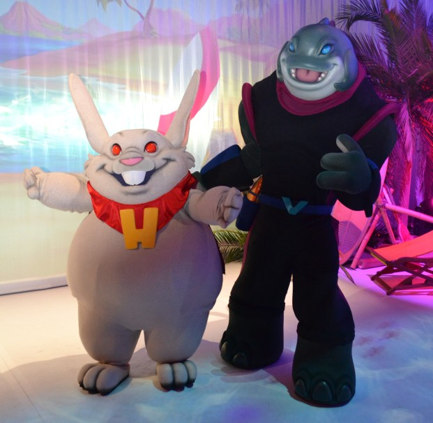 Villains Unleashed Event - Captain Gantu and Dr. Jacques von Hämsterviel