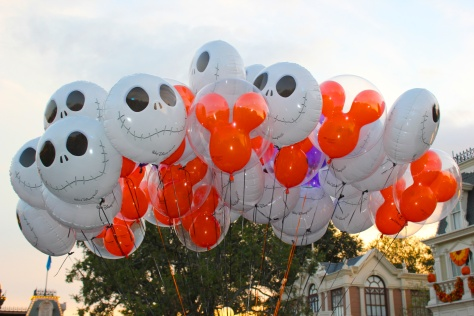 Halloweentime at the Magic Kingdom