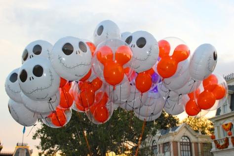Halloweentime at the Magic Kingdom