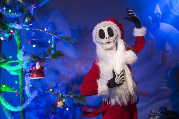 Mickey's Very Merry Christmas Party -Sandy Claws - AKA Jack Skellington