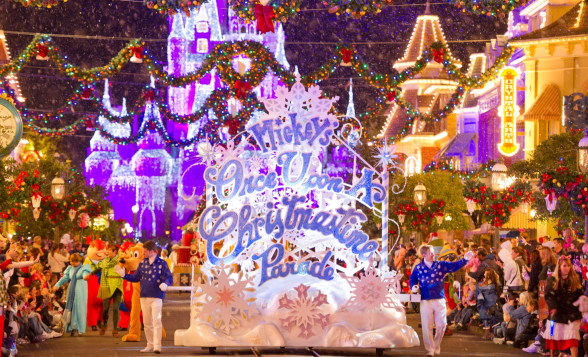 Mickey's Very Mery Christmas Party - Mickey's Once Upon a Christmastime Parade