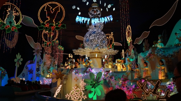 Disneyland During the Holidays - it's a small world