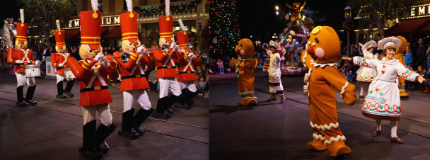 Disneyland at Christmastime - A Christmas Fantasy Parade