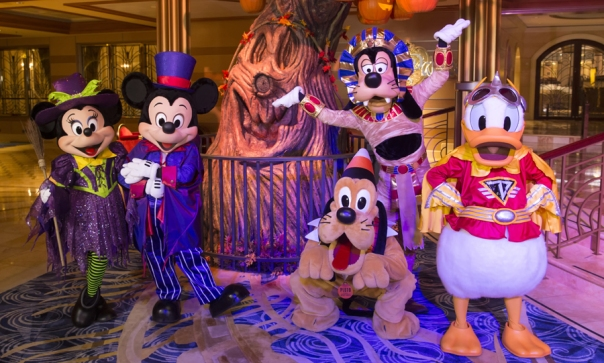 Disney Cruise Line at Halloween