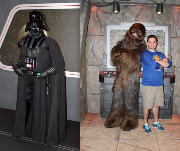 Star Wars Launch Bay - Darth:Chewbacca